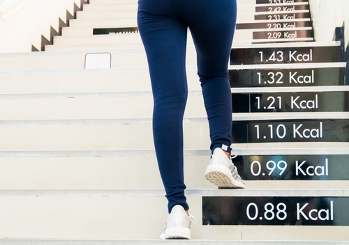 爬楼梯减肥