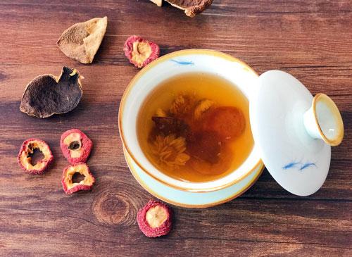 山楂金银菊花茶