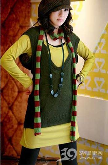 可爱针织衫 显瘦好搭配