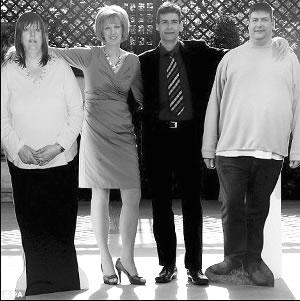 英国肥胖夫妻联合减肥127公斤