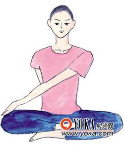 瘦身小体操-动作2