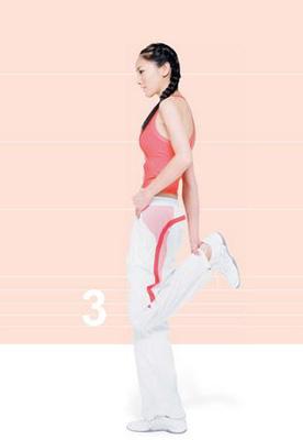 第1式 腿前侧伸展 图3