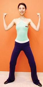 3步简单小体操 3周必瘦腰
