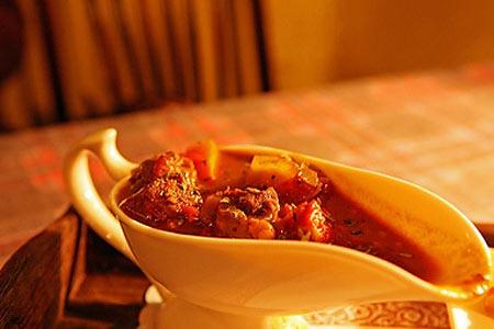 红烩牛肉饭套餐