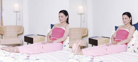 睡前瘦腿小运动 效果百分百