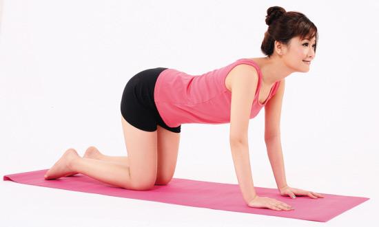 瘦身瑜伽 难减部位一次搞定