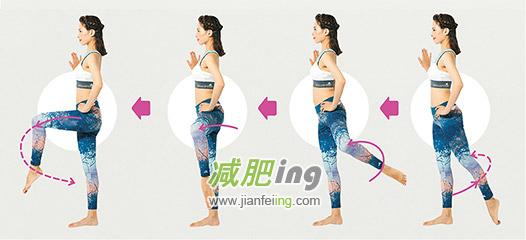 短时间内就可以瘦臀的伸展运动
